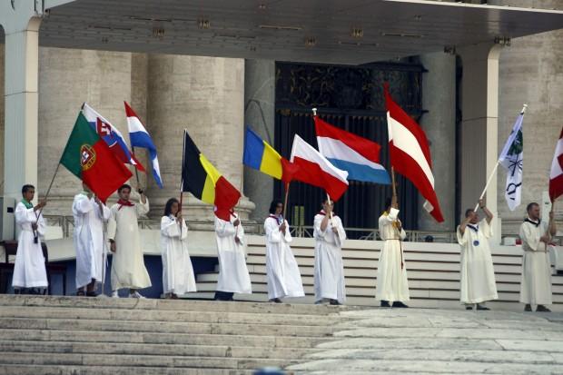 Papa Benedetto XVI ai ministranti (Roma 2010)